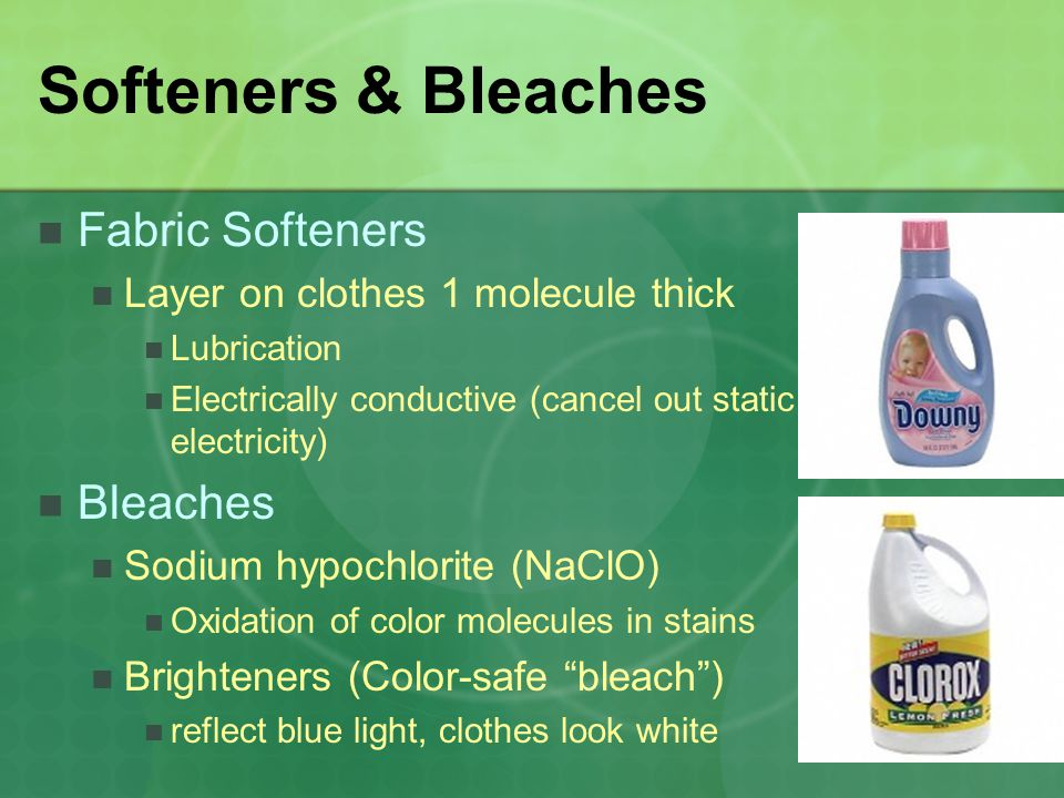 Softeners & Bleaches Fabric Softeners Bleaches