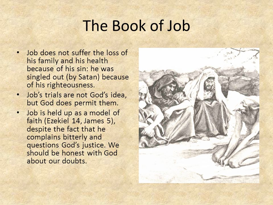 Job: The Revelation of God in Suffering