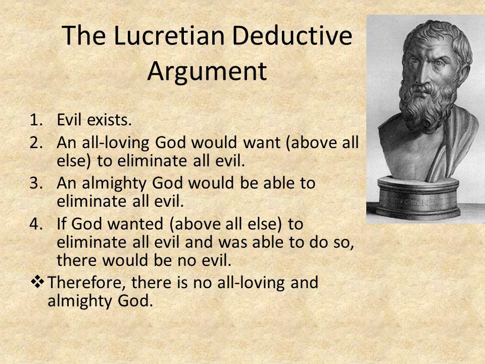 The Lucretian Deductive Argument