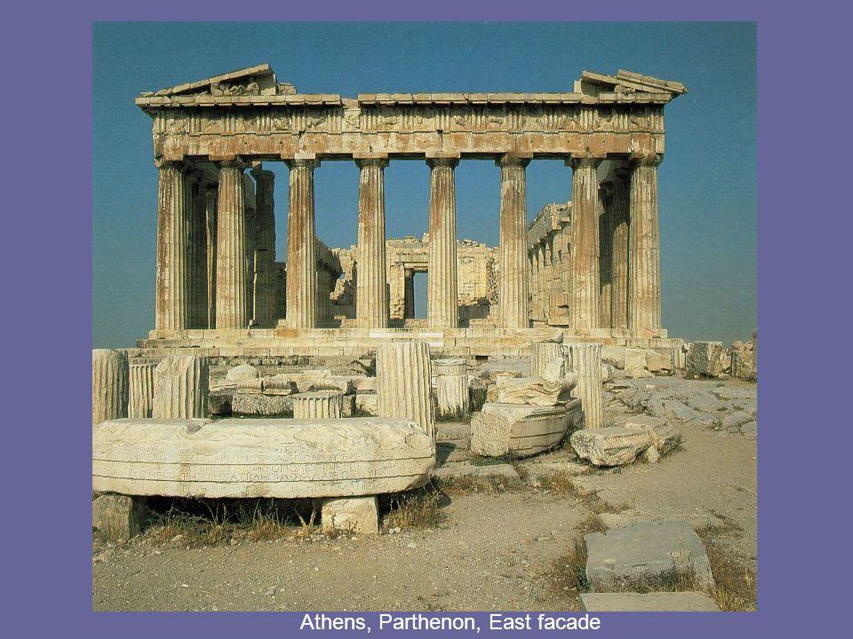 Athens, Parthenon, East facade
