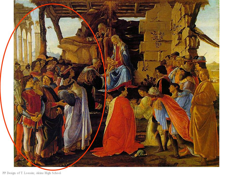 The Adoration of the Magi – Botticelli