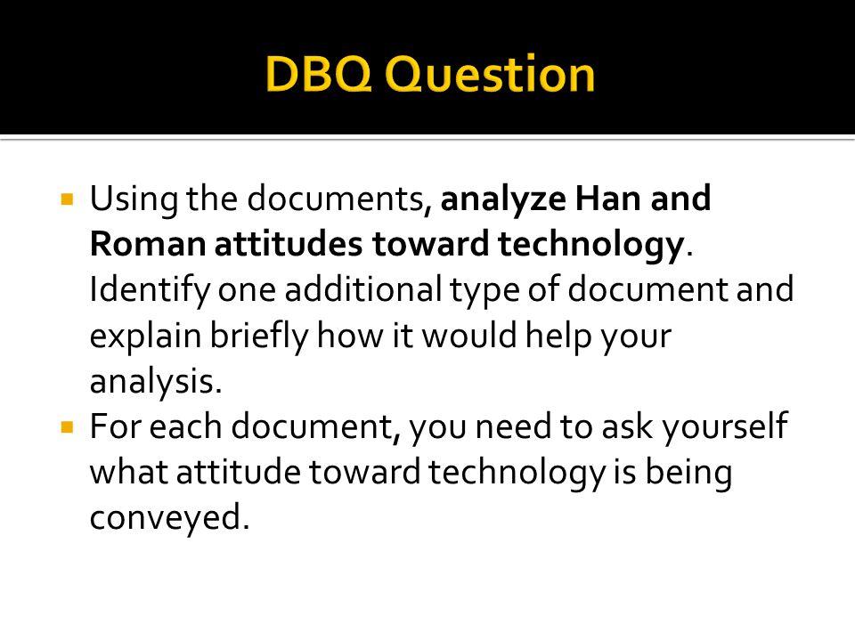 DBQ Question