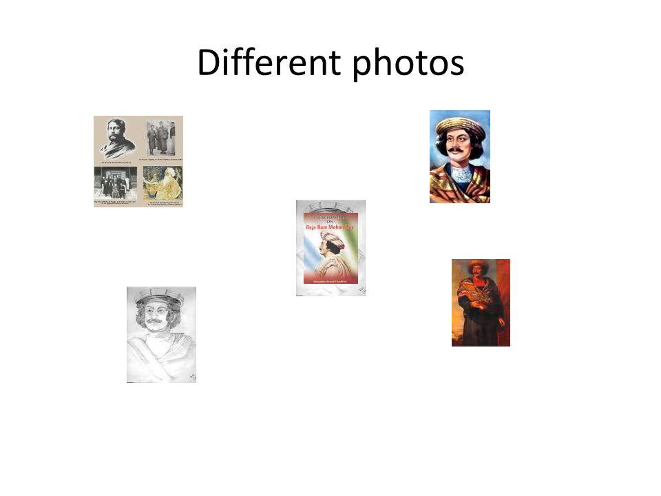 Different photos