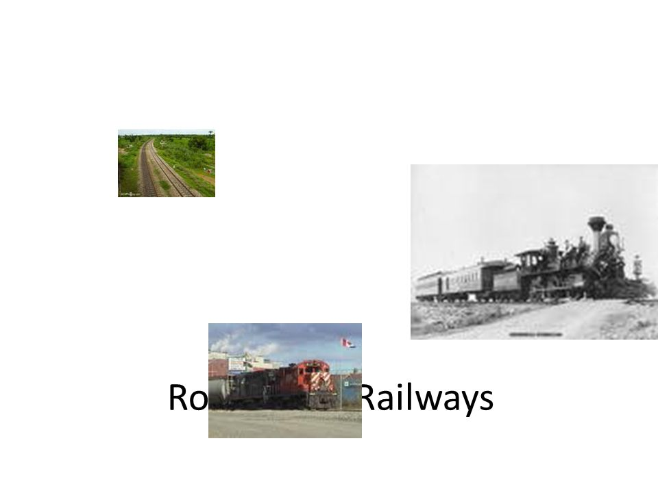 Role of the Railways