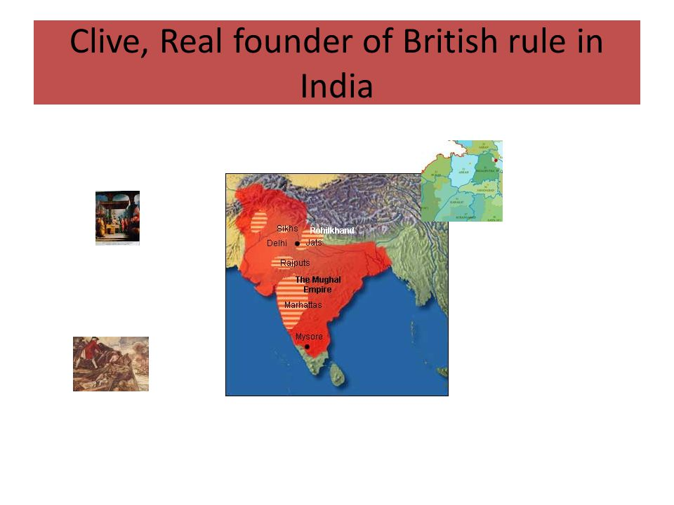 Clive, Real founder of British rule in India