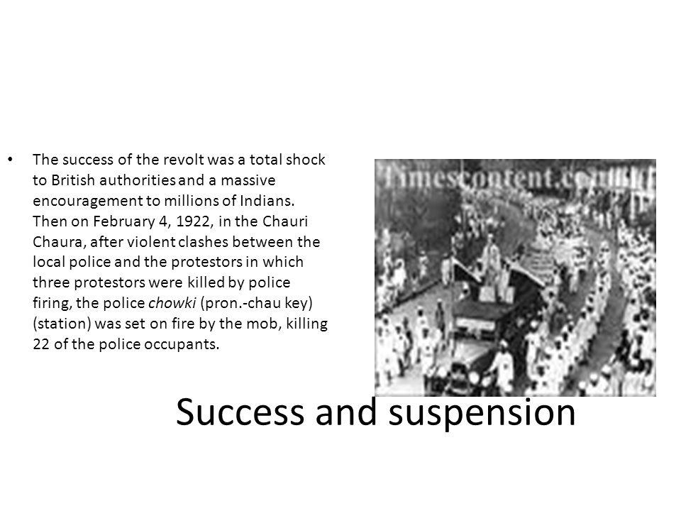 Success and suspension