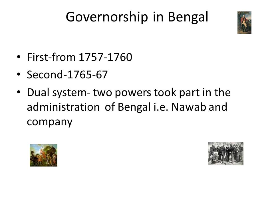 Governorship in Bengal