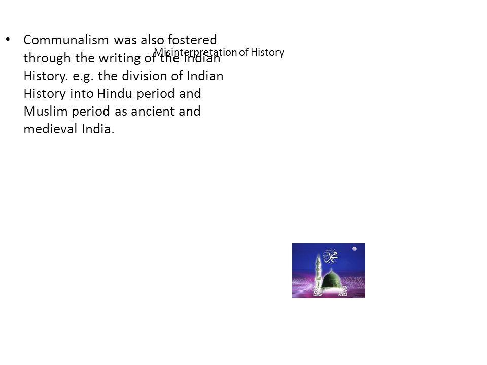 Misinterpretation of History