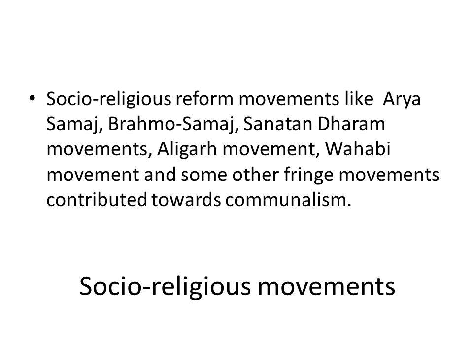 Socio-religious movements