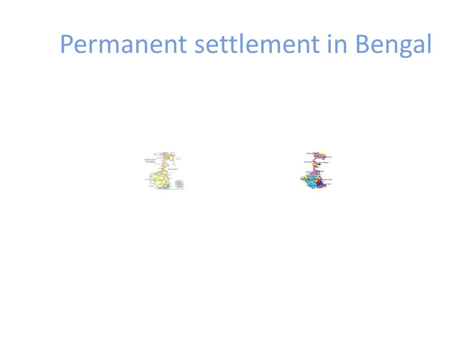 Permanent settlement in Bengal