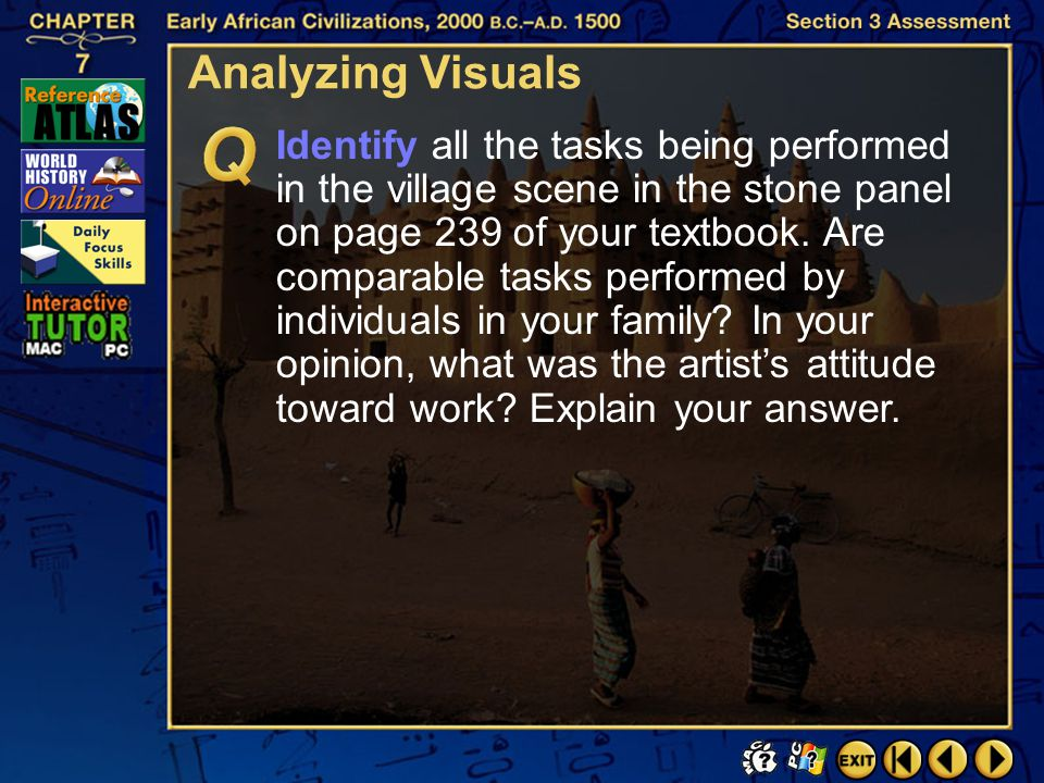 Analyzing Visuals