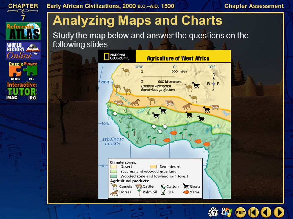 Analyzing Maps and Charts