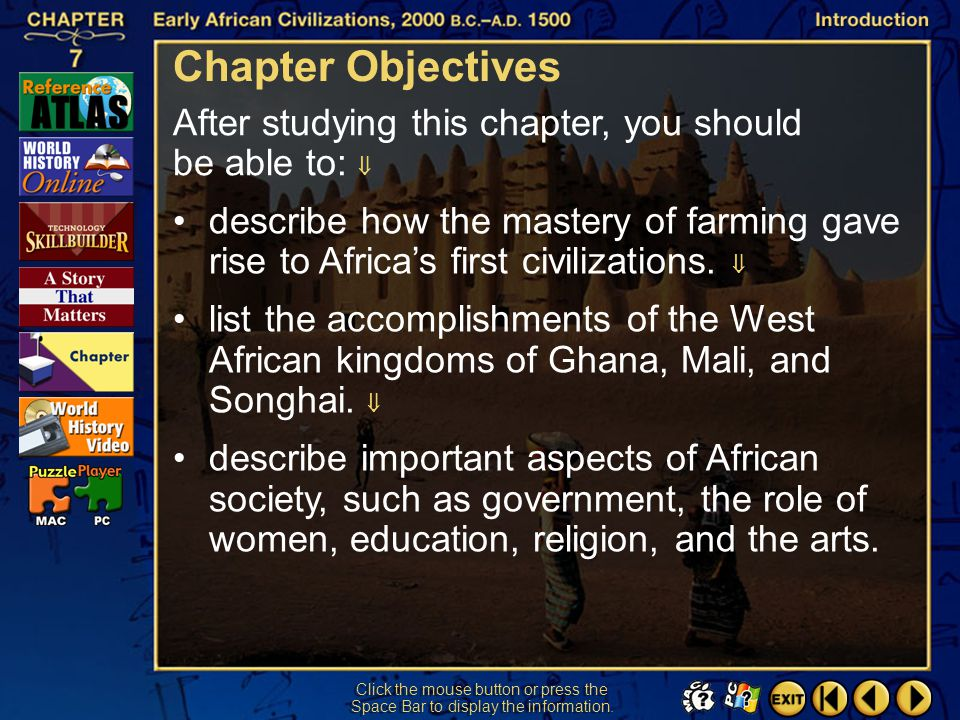 Chapter Objectives After studying this chapter, you should be able to: 
