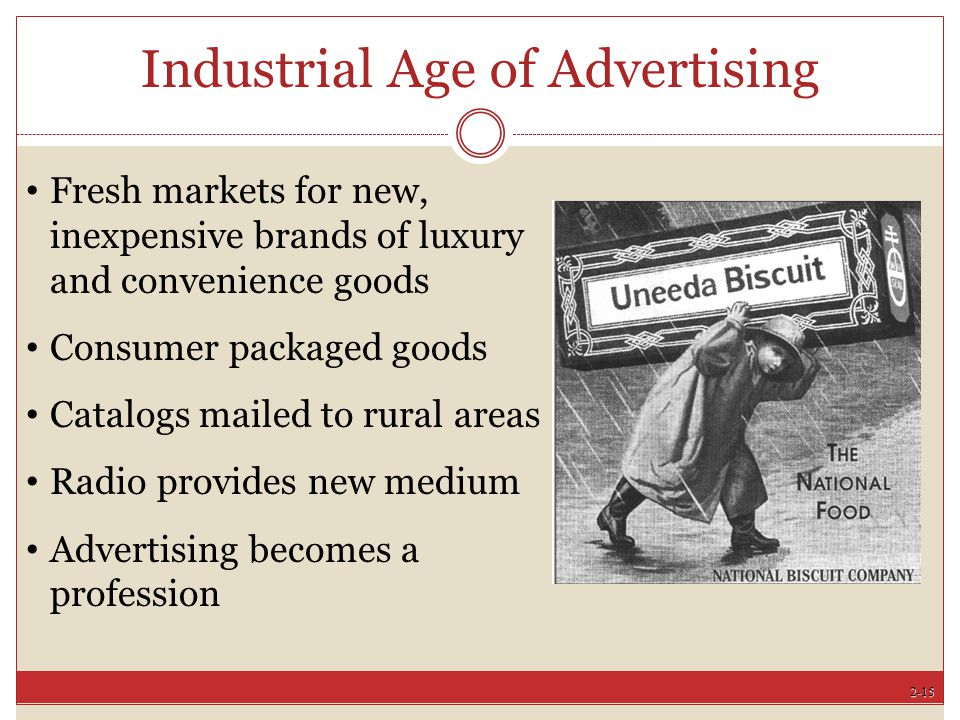 Industrial Age of Advertising