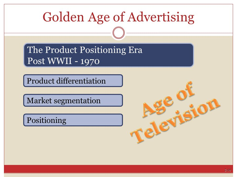 Golden Age of Advertising