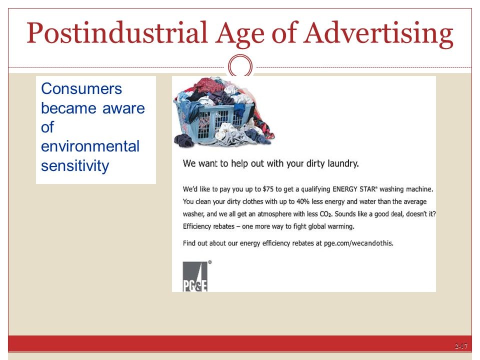 Postindustrial Age of Advertising