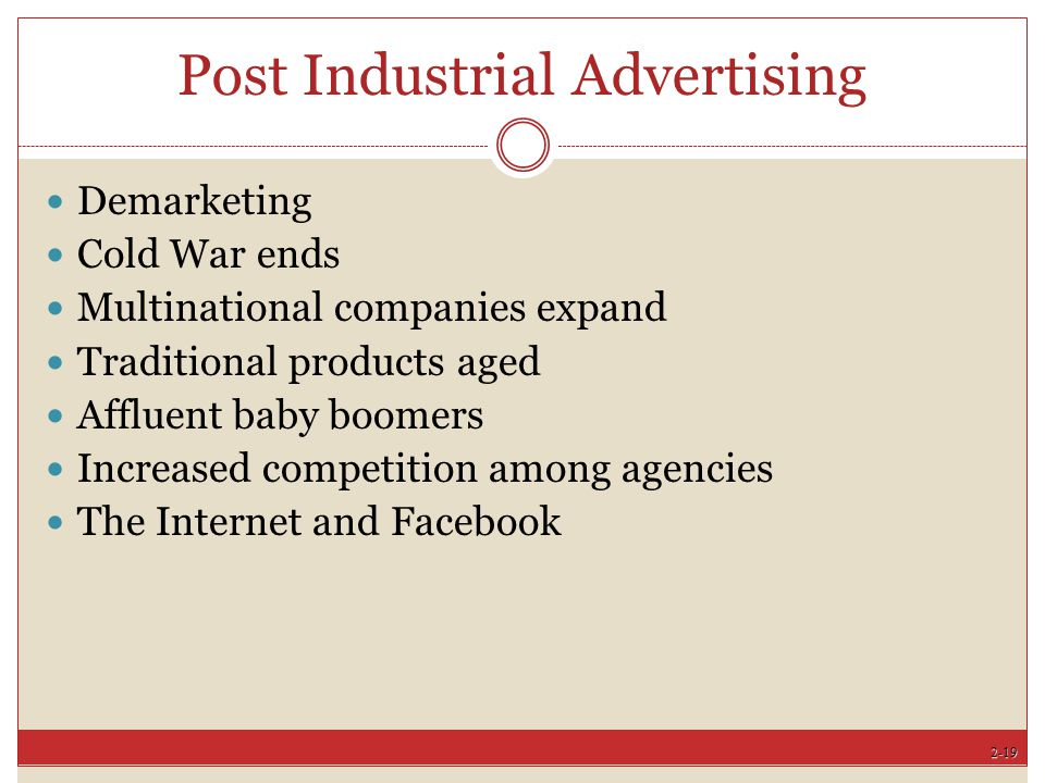 Post Industrial Advertising