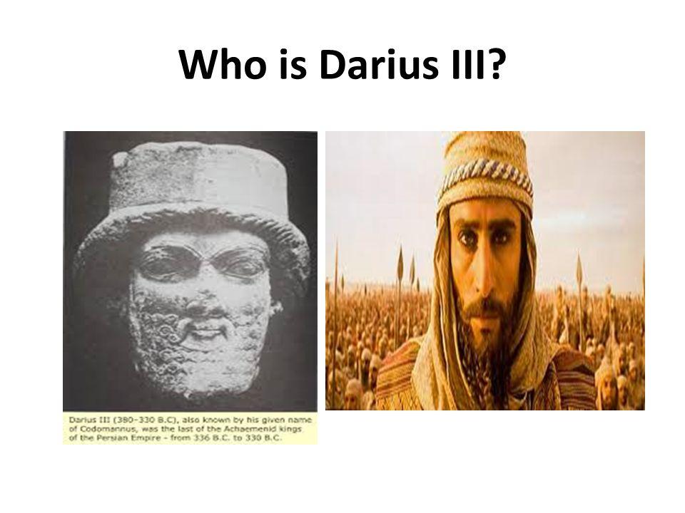 Who is Darius III
