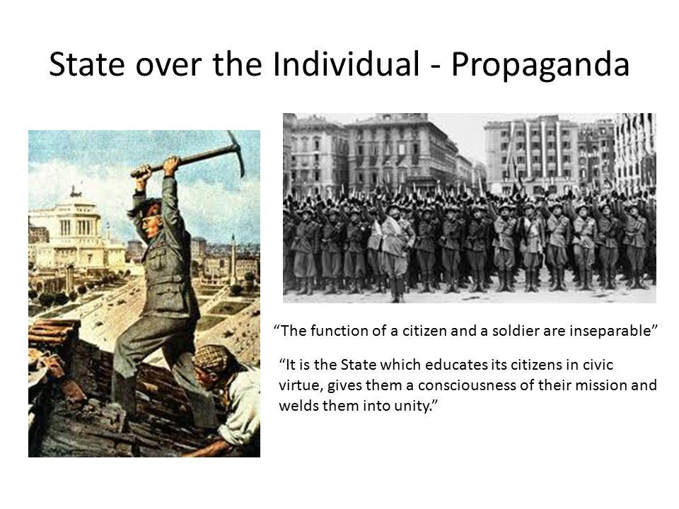 State over the Individual - Propaganda