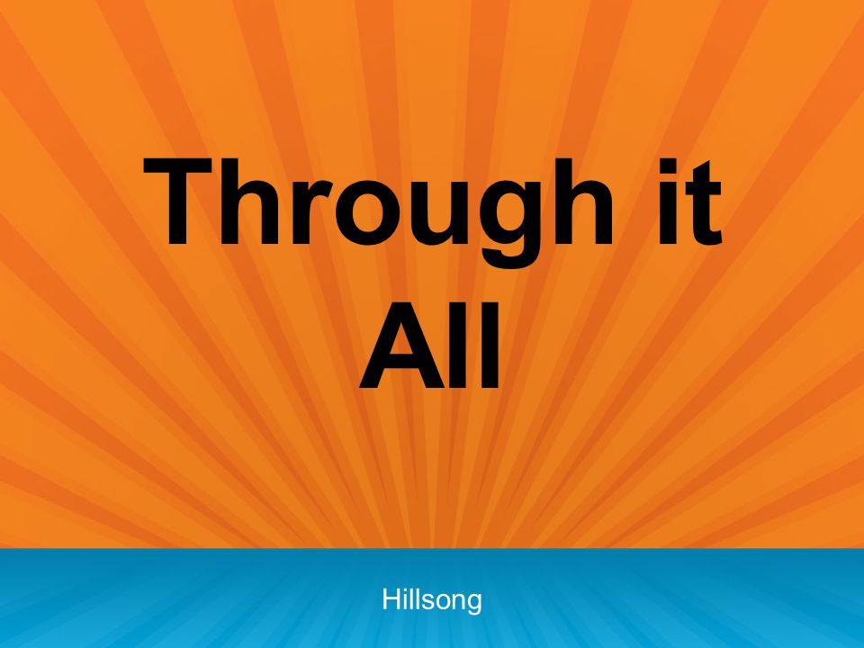 Through it All Hillsong