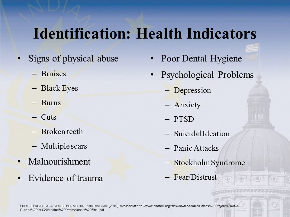 Identification: Health Indicators