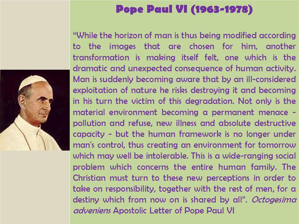 Pope Paul VI (1963-1978)