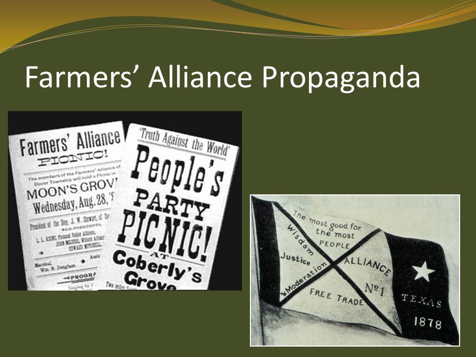 Farmers' Alliance Propaganda