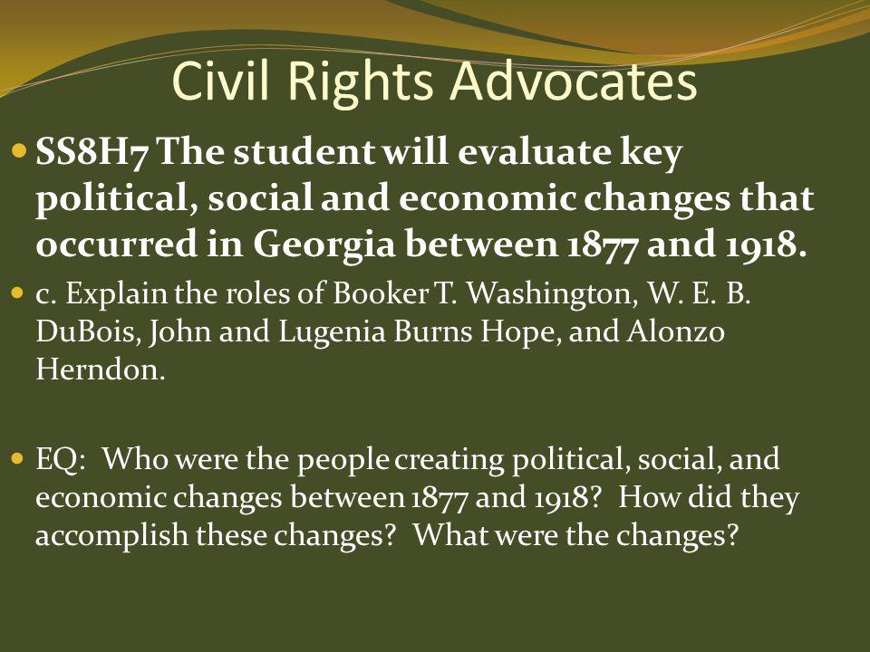 Civil Rights Advocates