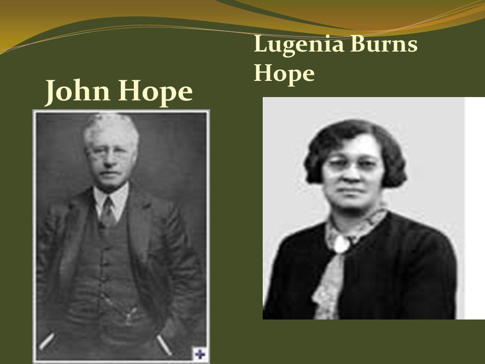 Lugenia Burns Hope John Hope
