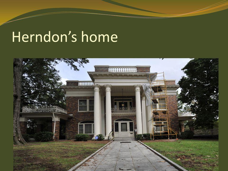Herndon's home