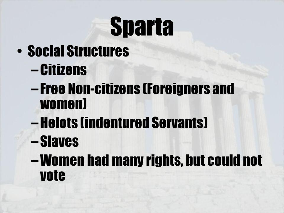 Sparta Social Structures Citizens