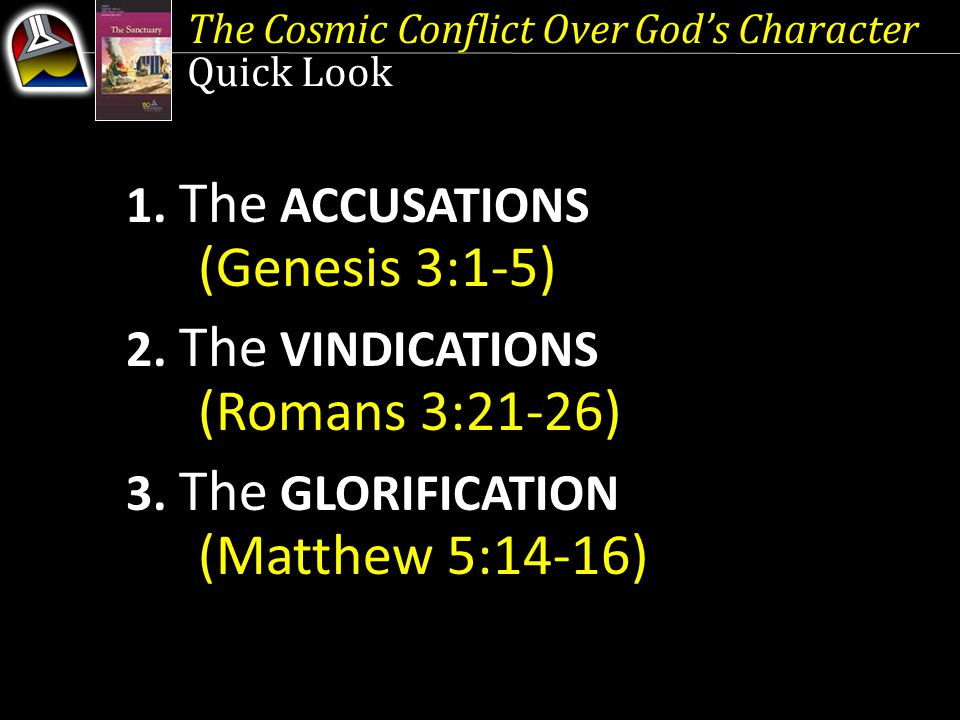 1. The ACCUSATIONS (Genesis 3:1-5)