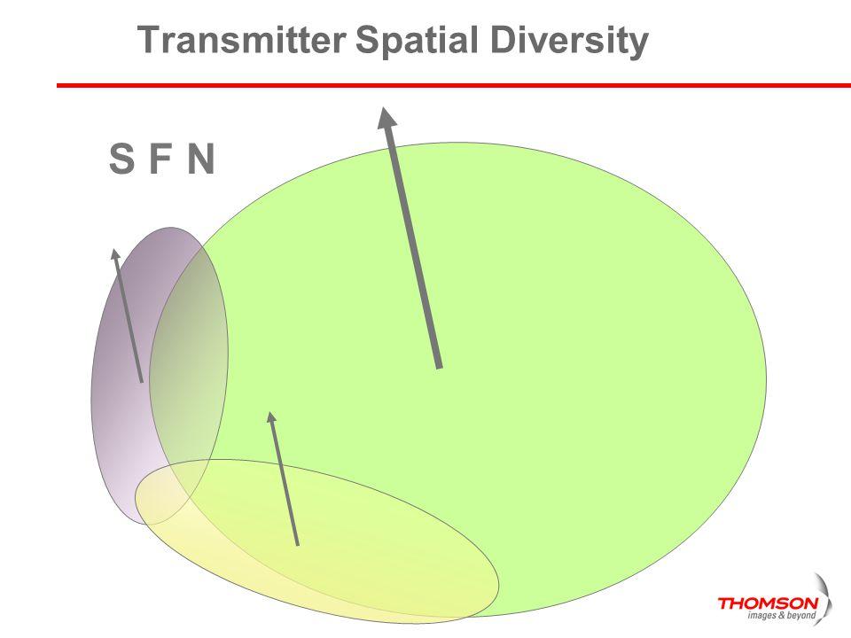 Transmitter Spatial Diversity