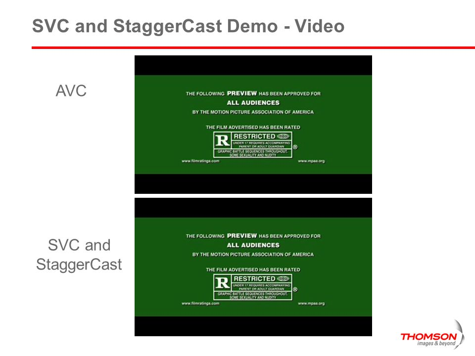 SVC and StaggerCast Demo - Video