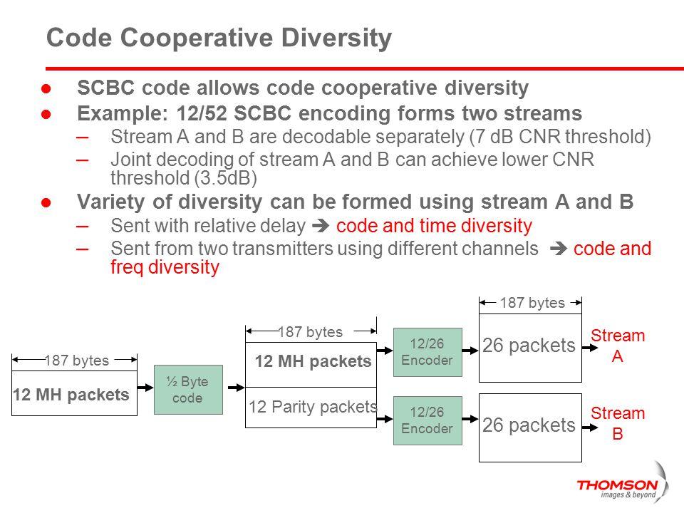 Code Cooperative Diversity