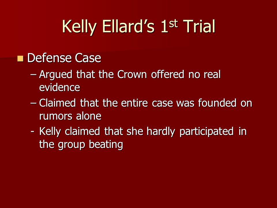 Kelly Ellard's 1st Trial