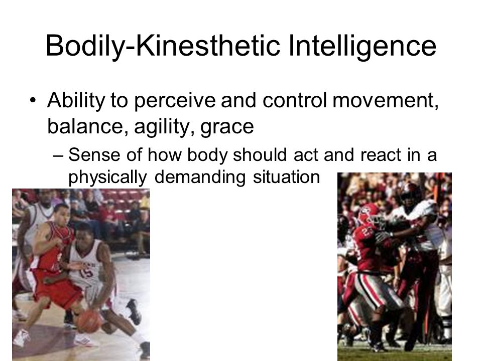 Bodily-Kinesthetic Intelligence