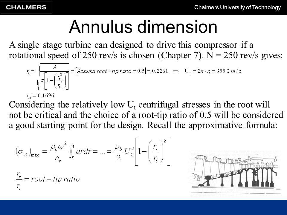 Annulus dimension