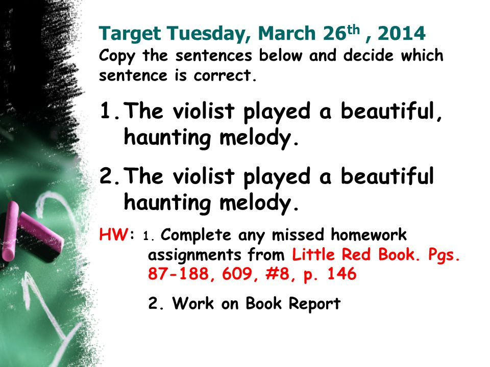 Target Tuesday, March 26th , 2014