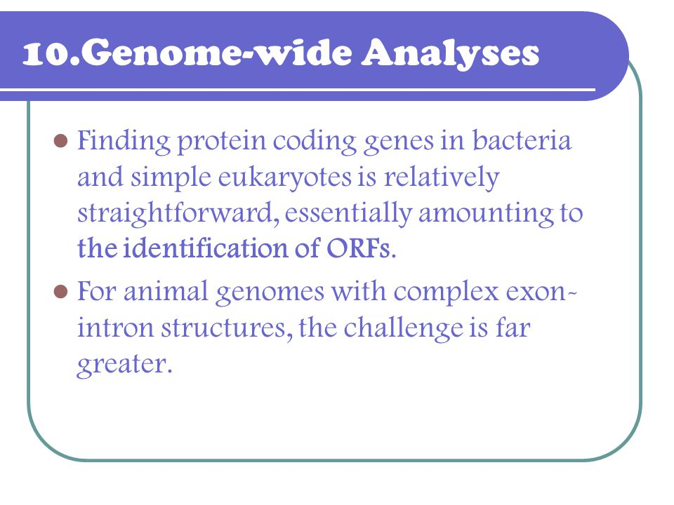 10.Genome-wide Analyses