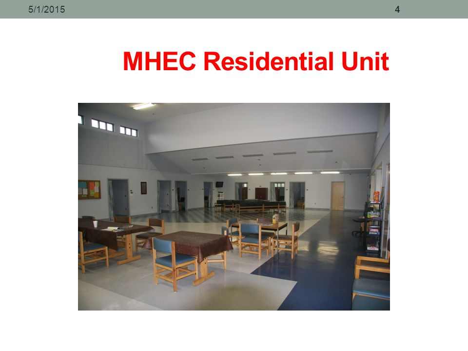 4/14/2017 MHEC Residential Unit