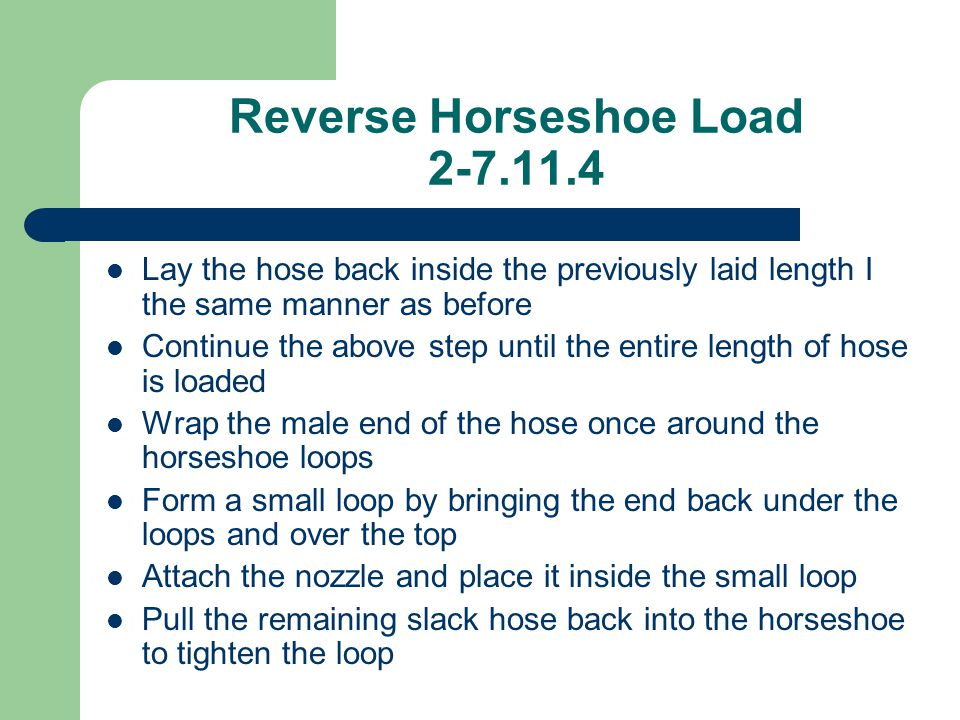 Reverse Horseshoe Load 2-7.11.4