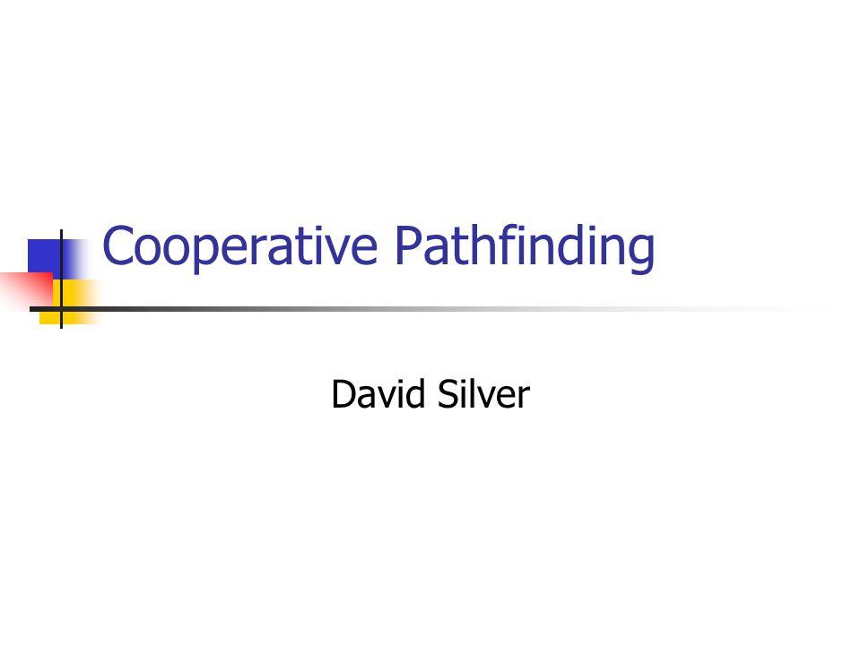 Cooperative Pathfinding