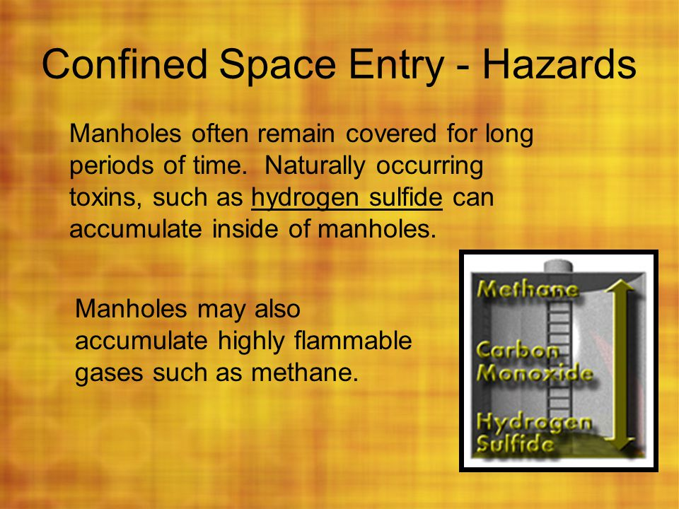 Confined Space Entry - Hazards