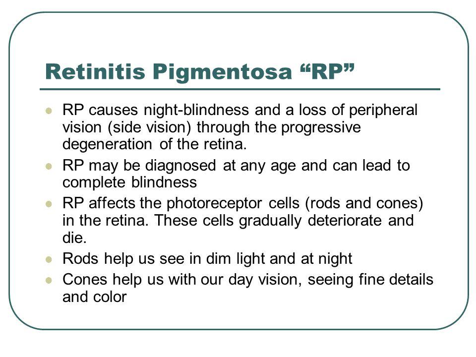 Retinitis Pigmentosa RP