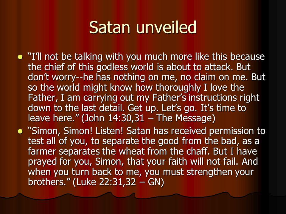 Satan unveiled