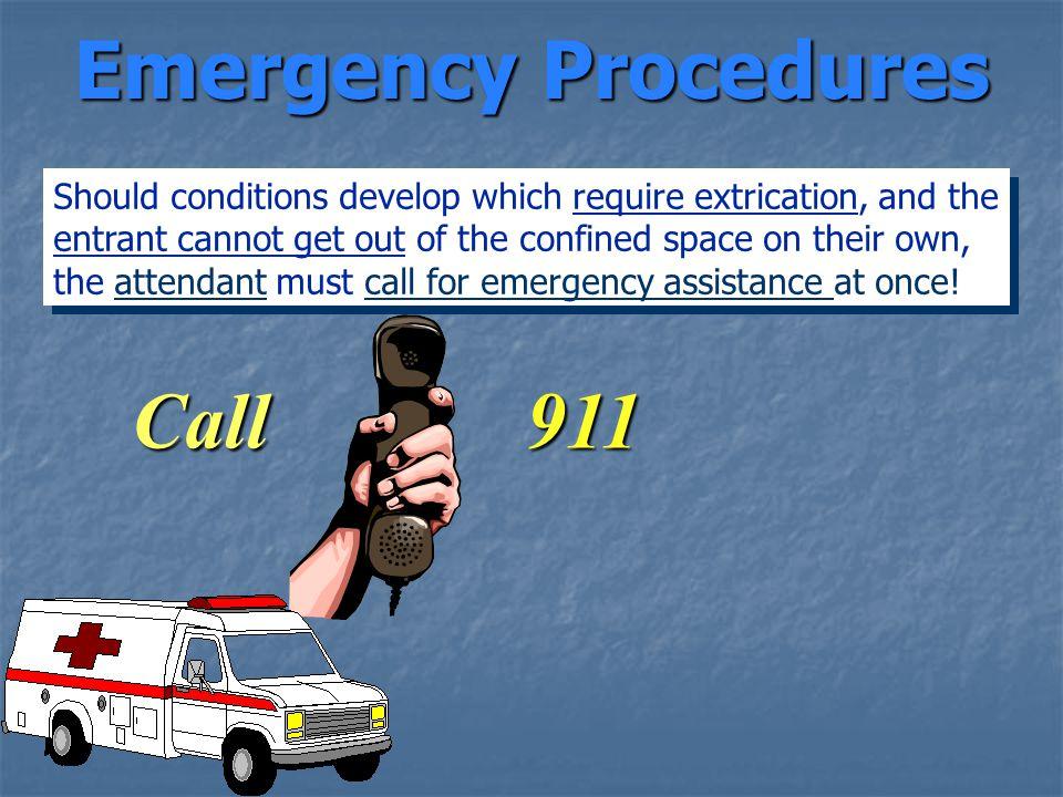 Emergency Procedures Call 911