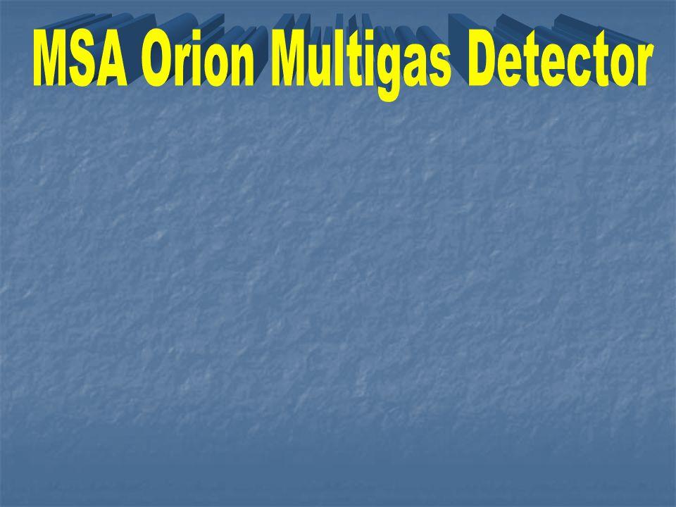 MSA Orion Multigas Detector