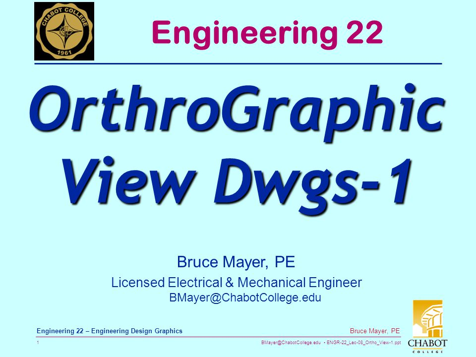 OrthroGraphic View Dwgs-1
