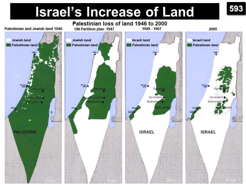 Israel's Increase of Land